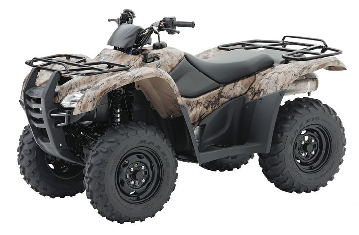 Four Wheelers Pictures Camouflage Honda Rancher 420 Four