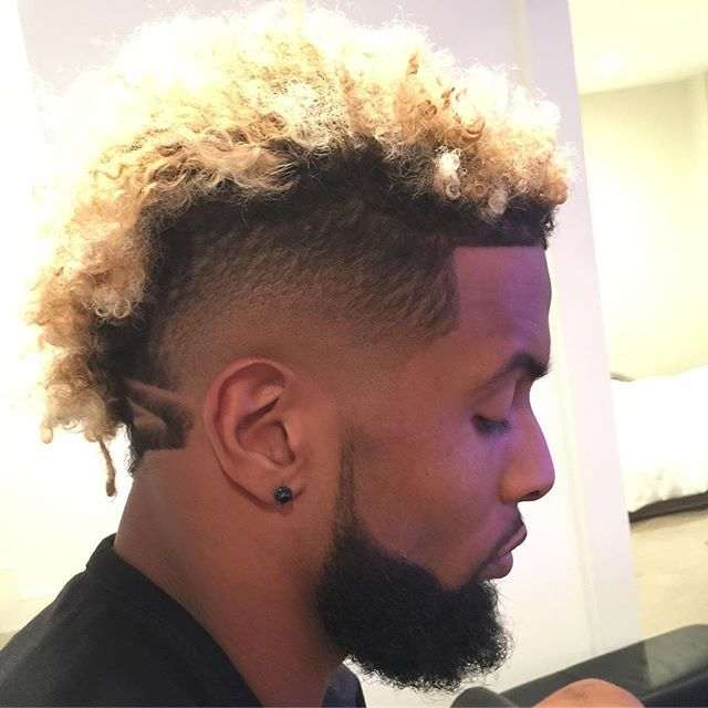 Best Objjjjj Images On Pinterest Back Walkover Black People - Odell beckham hairstyle back