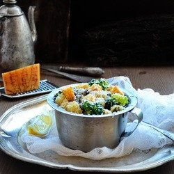 Broccoli Mushroom Pasta