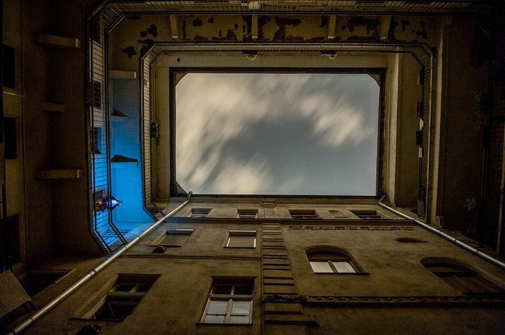 Budapest inside at night
