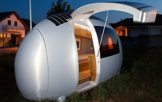 World's first off-grid Ecocapsule home to hit the market this year, shipping in 2016   Design Competitions