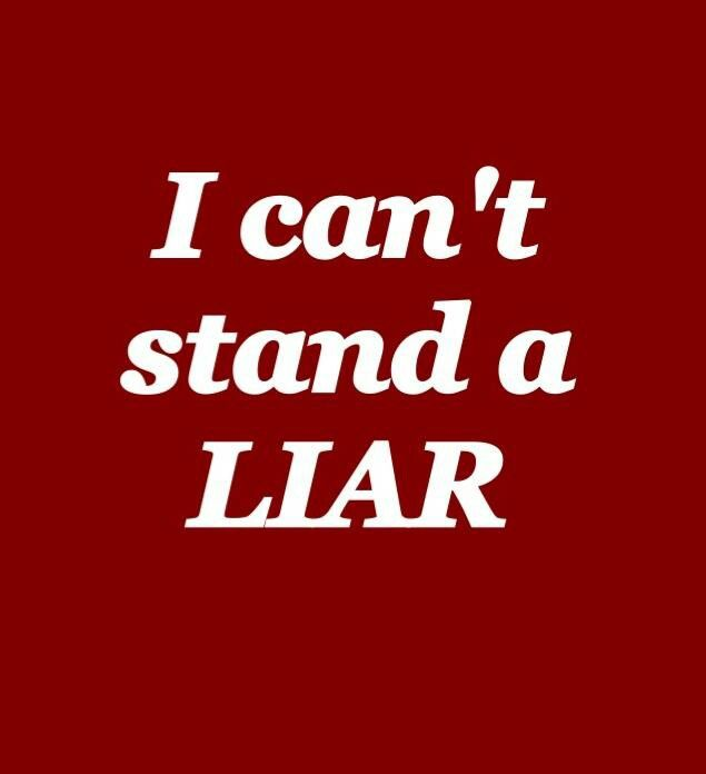 I Hate Lies Quotes: 1000+ Ideas About Liar Liar On Pinterest