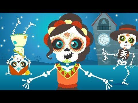 Los esqueletos | Chumbala Cachumbala | Las calaveras | Canción del Día de Muertos - YouTube