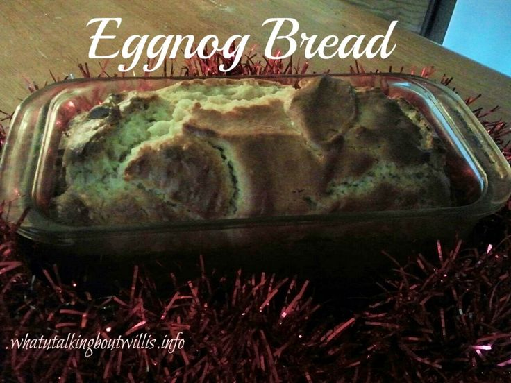 eggnog bread image