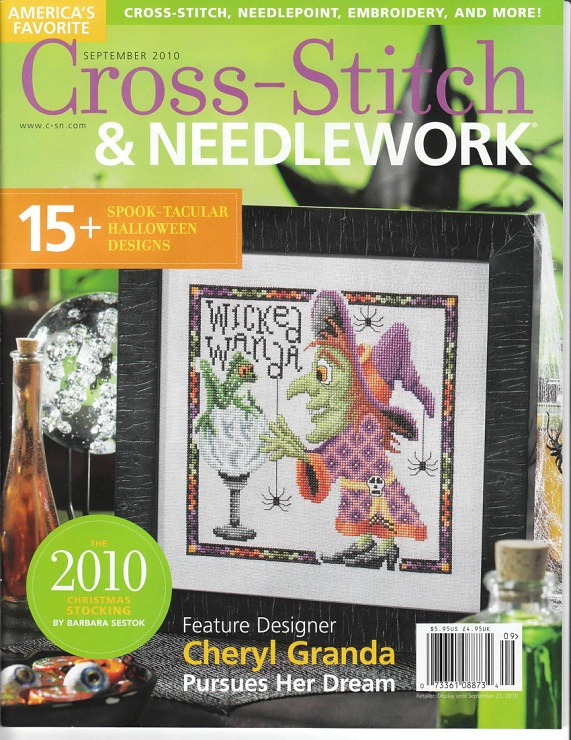 Cross Stitch & Needlework September 2010; Complete Magazine