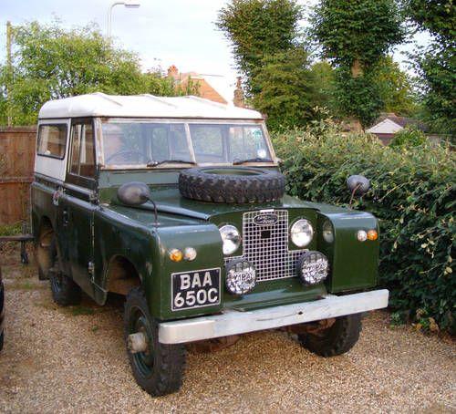 Series II, Landrover 1958-1961