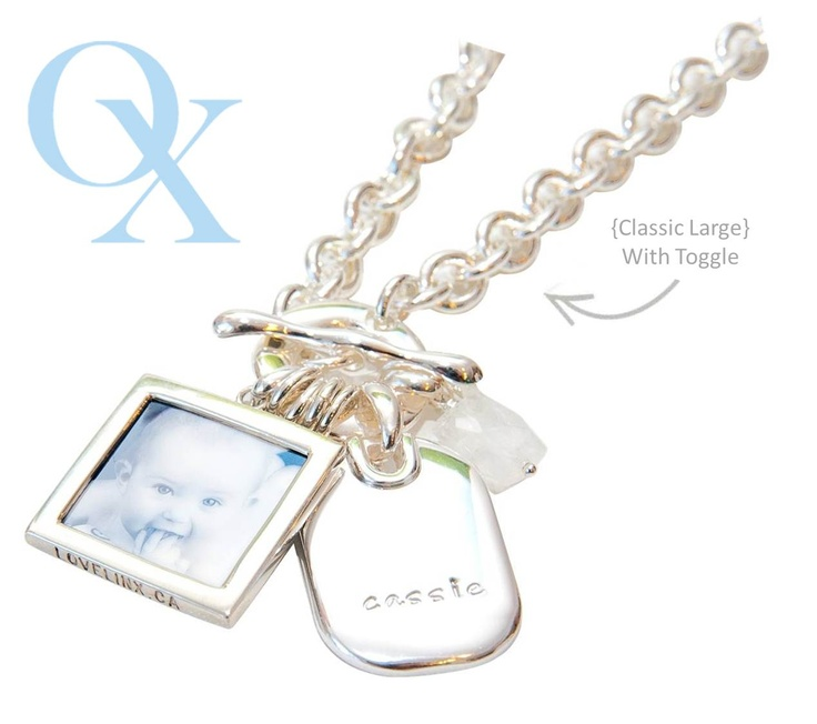 Our Classic lg chain...so popular and beautiful! www.lovelinx.ca