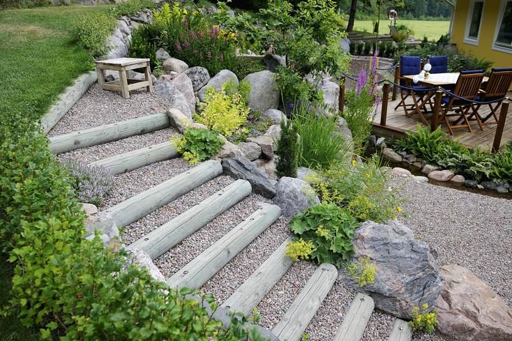 Aussentreppe Im Garten Aussentreppe Gartentreppe Treppe