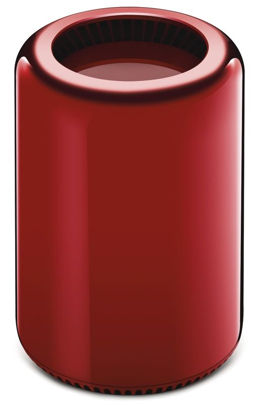 Jony Ive Designs One-of-a-Kind Red Mac Pro for Product (RED) Charity Auction - http://www.aivanet.com/2013/10/jony-ive-designs-one-of-a-kind-red-mac-pro-for-product-red-charity-auction/