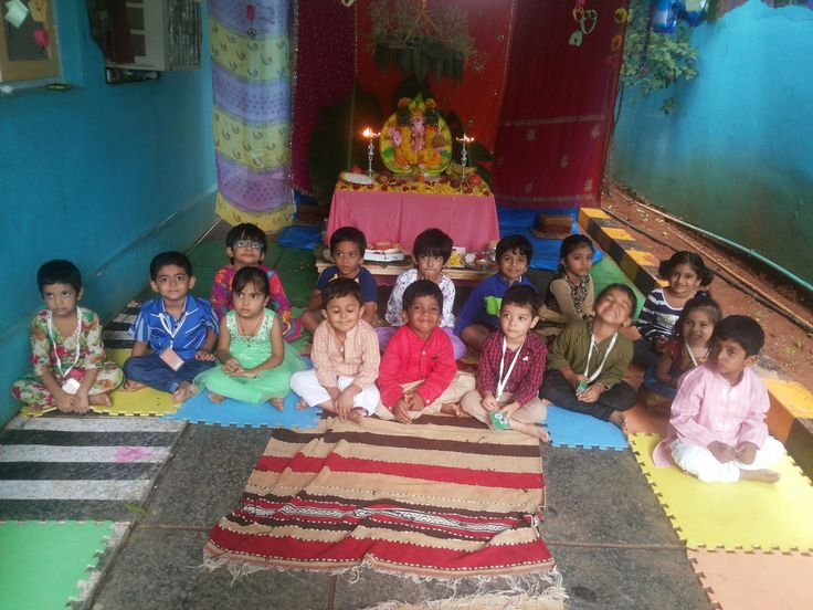 Oi Playschool is ISO 9001:2008 certified school.Ganesh Chaturdhi Celebrations,Event Corner, To know more about visit our website for more details. www.oiplayschool.com Toll Free:::1800-200-8171