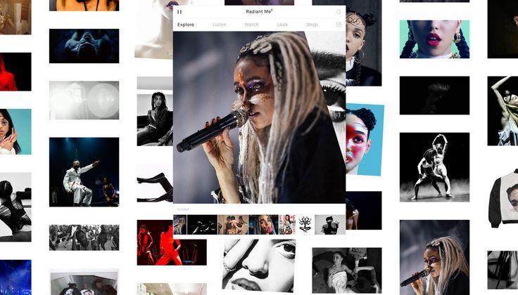 FKA twigs Official Website | Promotional Music Website with App-like User Interface | Award-winning Websites | D&AD