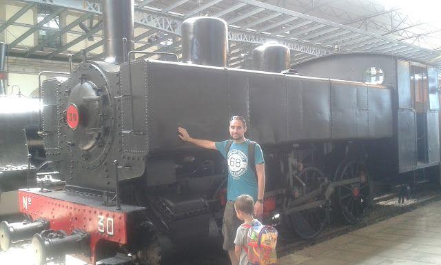 RUTAS EN ASTURIAS: Museo del ferrocarril. Gijón.