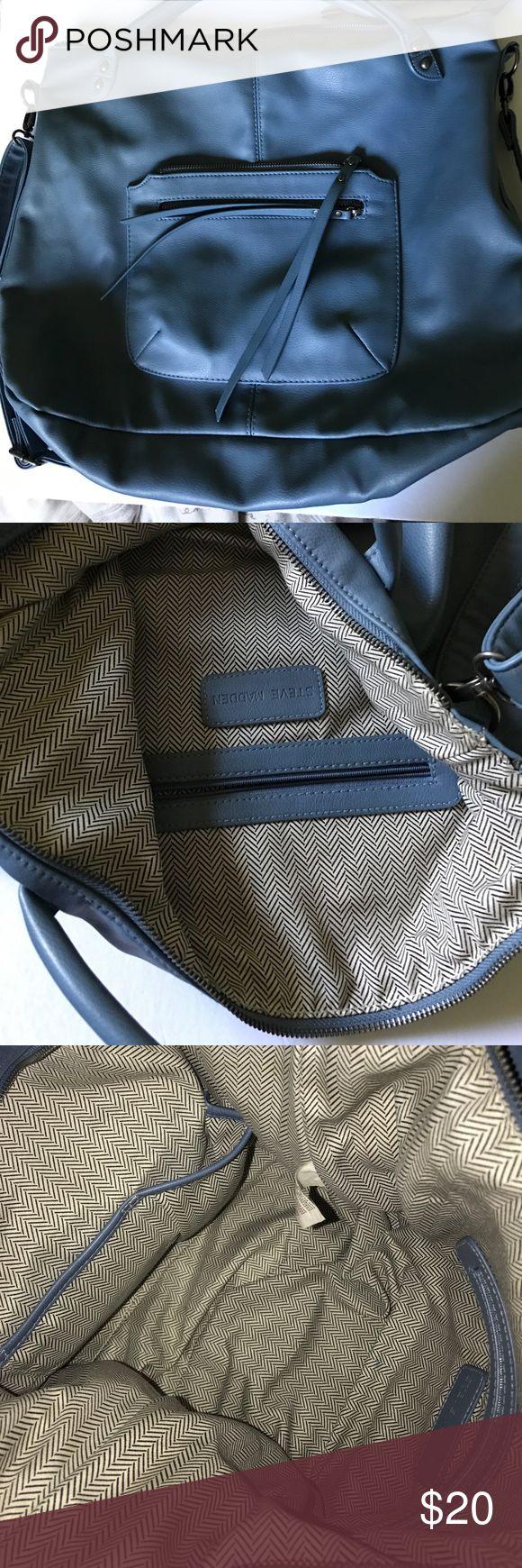 Steve Madden Handbag Blue Steve Madden handbag with strap. Steve Madden Bags Shoulder Bags
