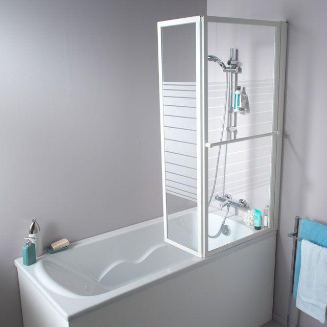 Épinglé par Sylviedessureault sur Salle de bain | Douche en coin, Baignoire, Rideaux ikea