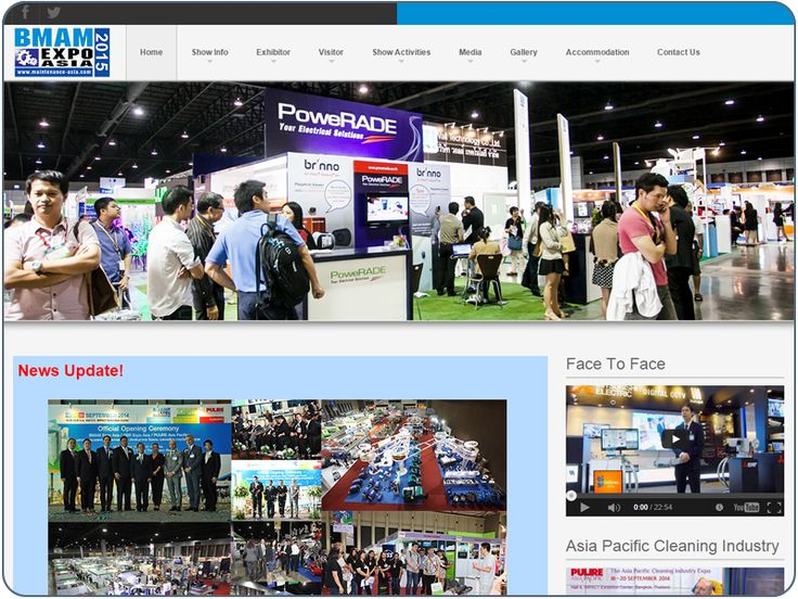http://www.cheapwebdesign.com.sg/index.php/en/component/content/article/10-portfolio/cms-website/71-maintenance-asia Opportunities abound at the BMAM Expo Asia 2014, 18-20 September 2014 at IMPACT Exhibition Center. An leading international industry event, BMAM Expo Asia is dedicated to the promoting the region's most dynamic sectors, covering Facilities Management, Security, Fire &Safety