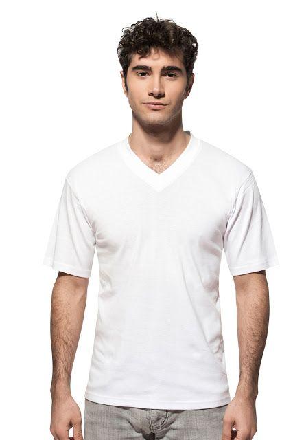 Özkan Erkek Ribana V Yaka Yarım Kol Fanila 0054 Beyaz