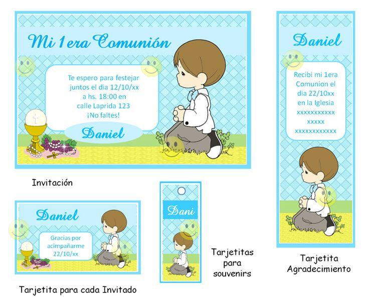 recuerdos de primera comunion para nino para imprimir