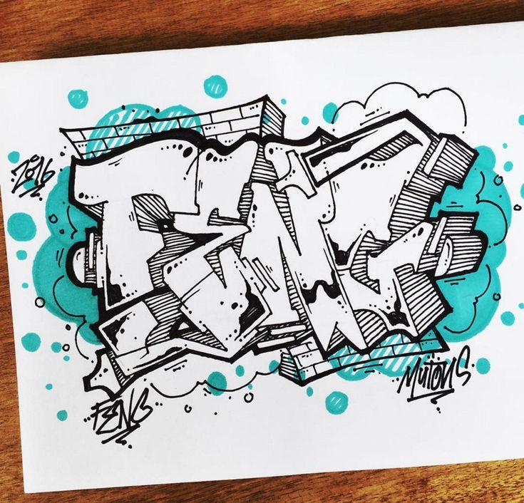 Graffiti BlackBook : Drawing BlackBook 3D Graffiti