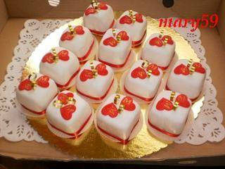 Zákusky na redový tanec - - Svadobná torta a záku...