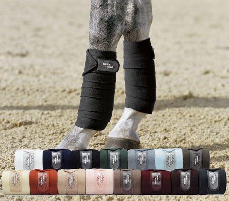 Ligaduras para cavalo em várias cores da Zaldi!  #Zaldi #Horse