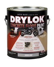 can i paint a damp concrete floor? yes!                                                                                                                                                                                 More