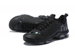 29eb2275bd5 Online Nike Air Max Plus Mercurial TN Triple Black AQ0242 001 Sneakers  Men s Running Shoes