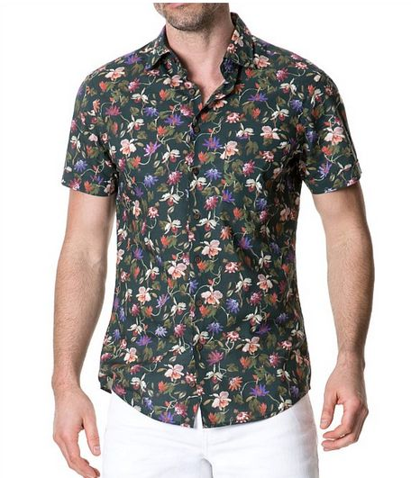 Crafted in Italy from a lightweight cotton muslin, this Greymouth Sports Fit Shirt, $199.99 from Rodd and Gunn is perfect for those Summer barbies