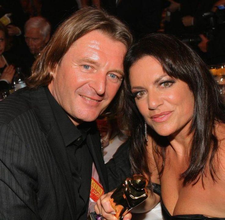 Ein Bild aus glücklicheren Tagen: Lambert Dinzinger und Christine Neubauer im Jahr 2008