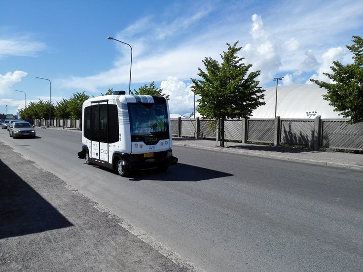 A quirk in Finnish law means 'robot buses' are allowed on Helsinki streets.