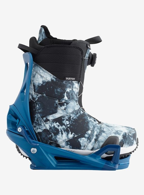4996ced637f3 Men s Burton Ruler Step On Snowboard Boot shown in Grey Tie Dye ...