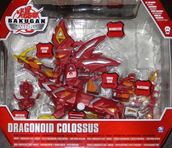Juguete Bakugan DRAGONOID COLOSSUS Incluye 4 Bakugan