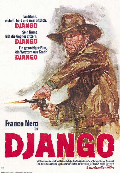 Por um punhado de euros: Posters | Django (1966)