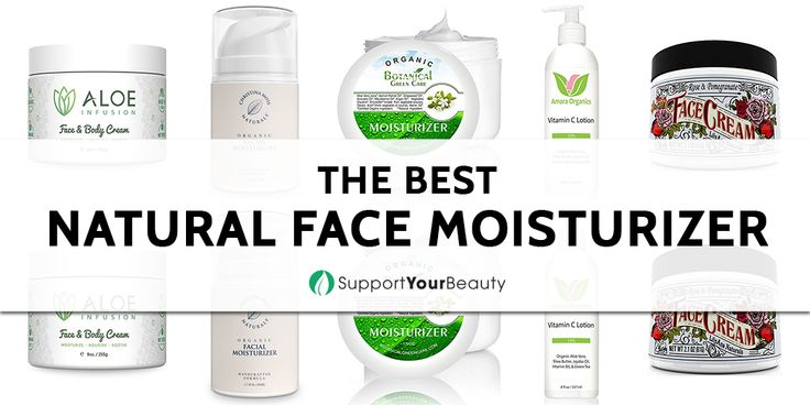 The Best Natural Face Moisturizer – 2017 Reviews & Top Picks - Check it out on Support Your Beauty!