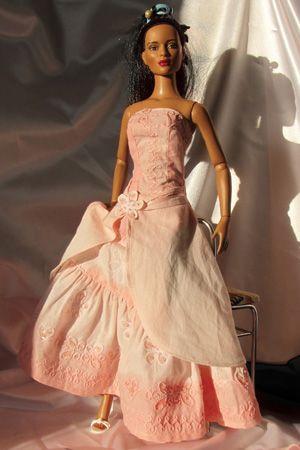 Patron robe de princesse Barbie