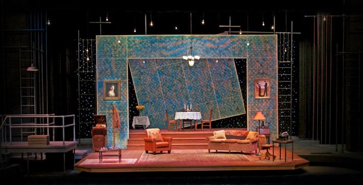The Glass Menagerie. Scenic design by Jon Drtina.