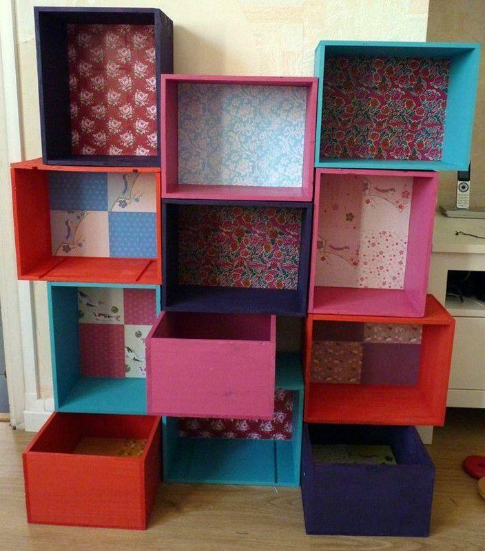 Rangement jouet chambre enfant nice storage ideas for for Meuble rangement jouets
