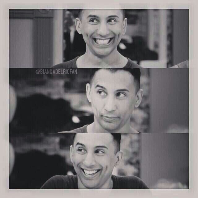 Roy Haylock (aka Bianca del Rio) that smile and those dimples are everything!!