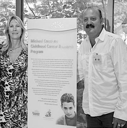 Gloria and Domenic Cuccione are dedicated to carrying on the inspirational work of their son, Michael, who died from cancer at a tragically young age.