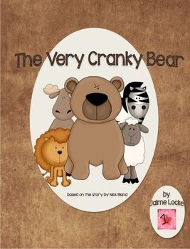 Readers' Theater: The Very Cranky Bear ~ 4 animal friends just want to get out of the rain and play in a nice, warm spot. 1 cranky bear just wants to take a nap in his nice, dry cave. Everything ends up working out, but not before the bear ends up looking ridiculous! This play is based on the book by Nick Bland. It is 4 pages long and has 7 parts: Narrator 1, Narrator 2, Moose, Zebra, Lion, Sheep and Bear.