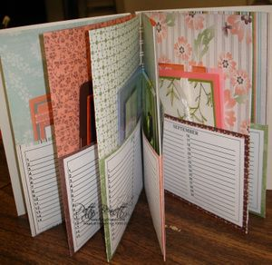 This would be a great idea to store the birthday cards that need to be sent every month.