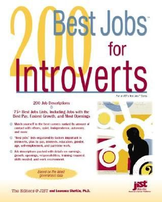 73 best introverts images on pinterest book show introvert and 200 best jobs for introverts fandeluxe Gallery