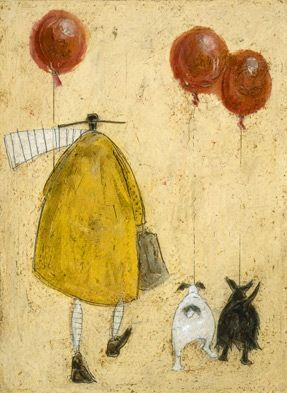 Red Ballons::Sam Toft Art Work - Bing Images