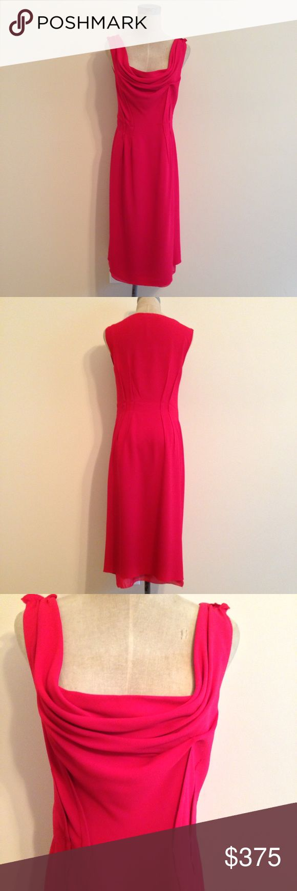 Size 2 red dress eye