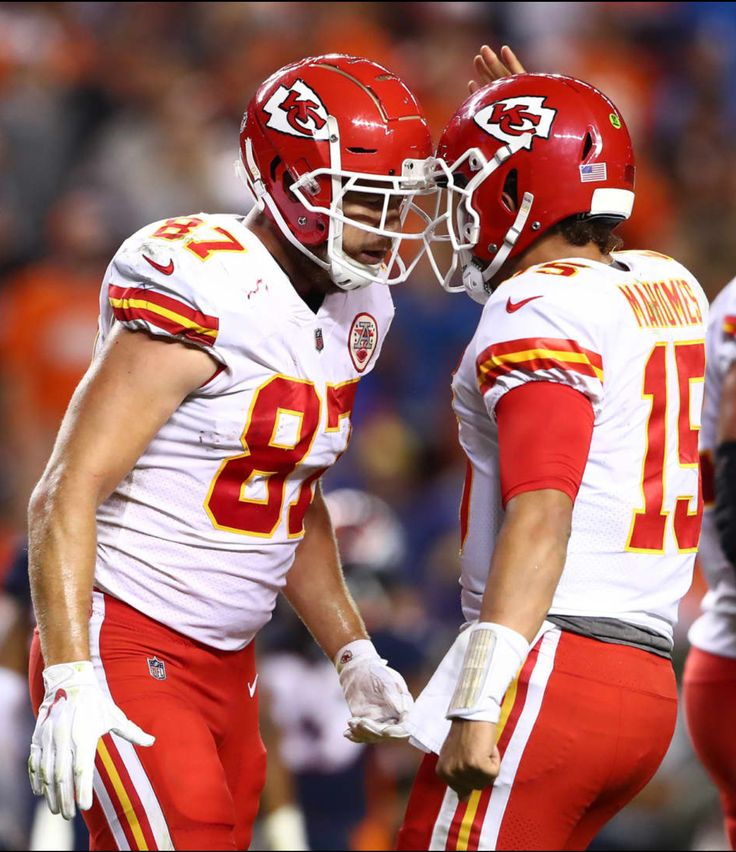 Dynamic  Duo…Mahomes and Kelce!