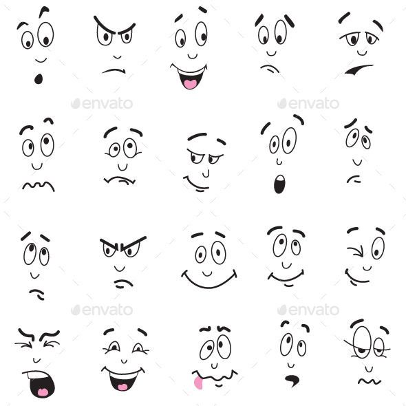 Cartoon Facial Expressions
