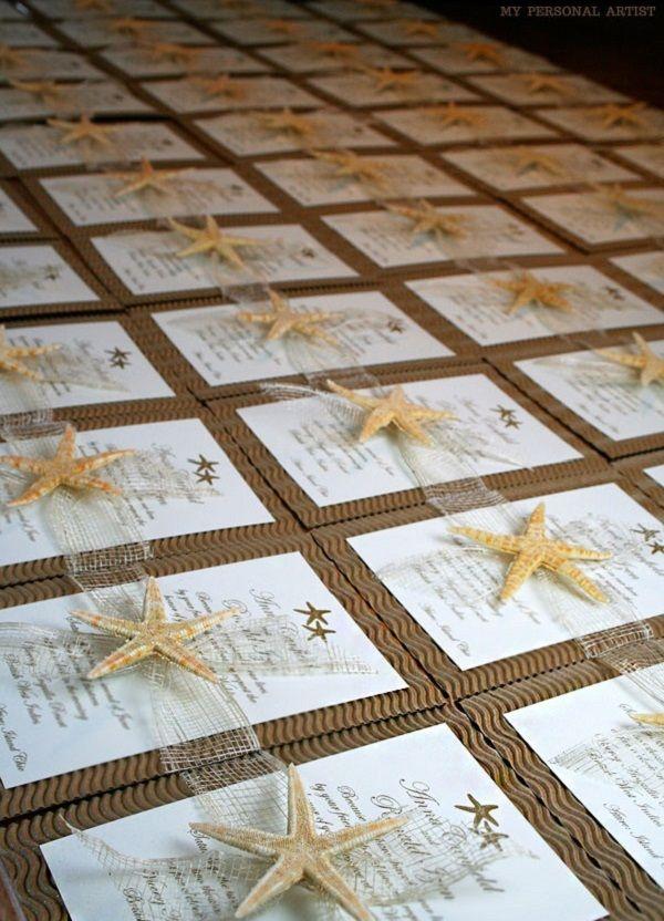 Beach wedding invitation... Wedding ideas for brides, grooms, parents & planners ... https://itunes.apple.com/us/app/the-gold-wedding-planner/id498112599?ls=1=8 … plus how to organise an entire wedding ♥ The Gold Wedding Planner iPhone App ♥