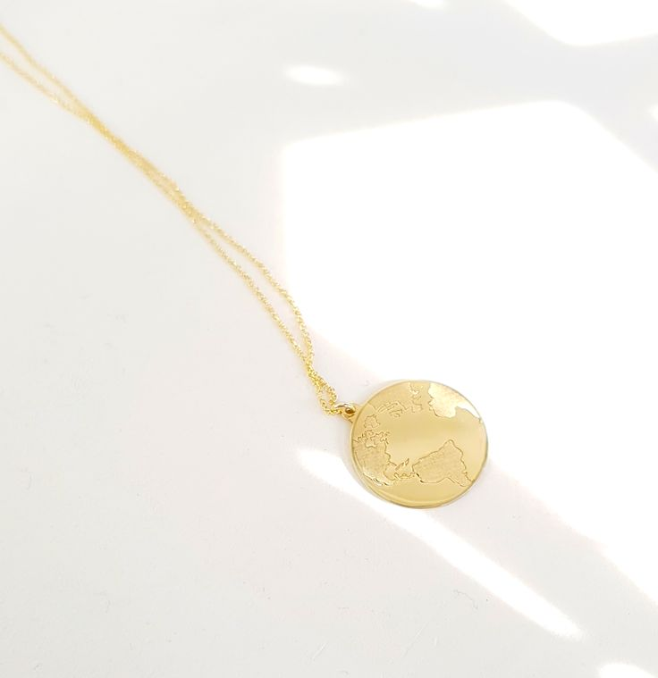 Custommade GoldenEarth #earth #gold #goldearth #goldplanet #necklace #fashion #love