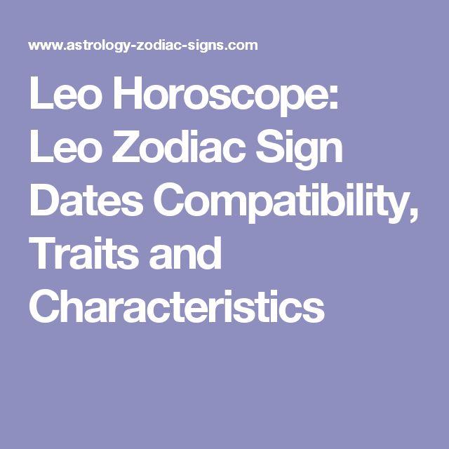Leo Horoscope: Leo Zodiac Sign Dates Compatibility, Traits and Characteristics