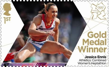 Team GB Gold Medal Winner Jessica Ennis Athletics: Combined