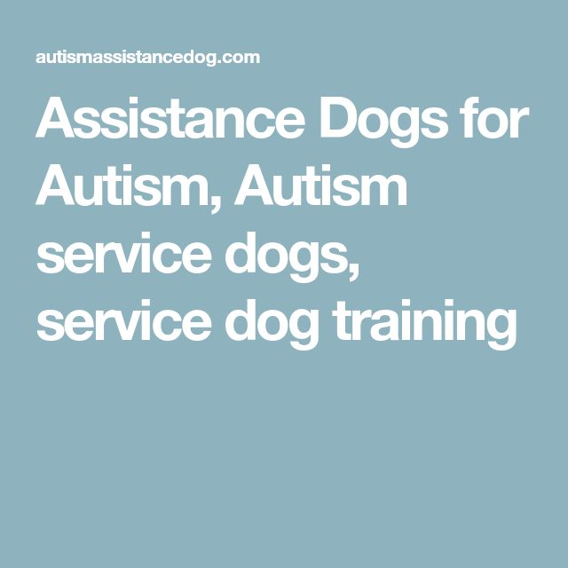 Assistance Dogs for Autism, Autism service dogs, service dog training